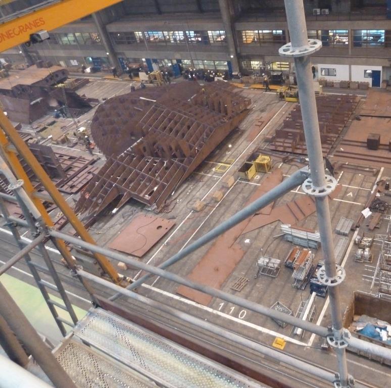 IHC Krimpen bouwloods LED Fabriekshalverlichting hoog
