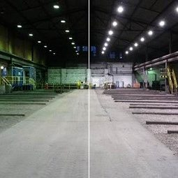 outokompu Degersfors fabriekshalverlichting
