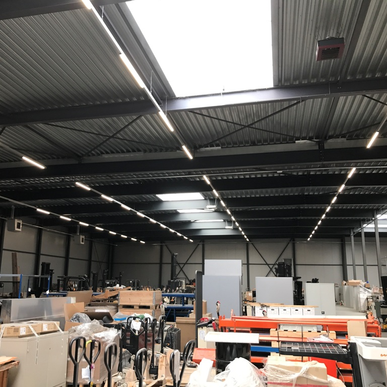 LED Magazijnverlichting armaturen bij Hitachi
