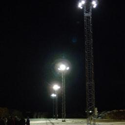 LED Terreinverlichting voor Domsjö Papierfabriek Sweden