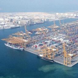 Jebel Ali Ports Terminal 3 Dubai LED Terreinverlichting