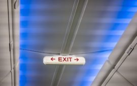 Noodverlichting exit bord