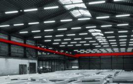 Lage bedrijfshallen verlichting