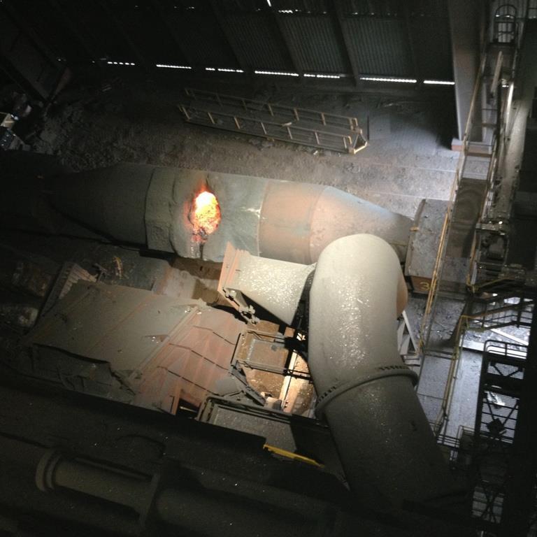 LED Speciale werkplaatsverlichting armaturen bij Arcelor