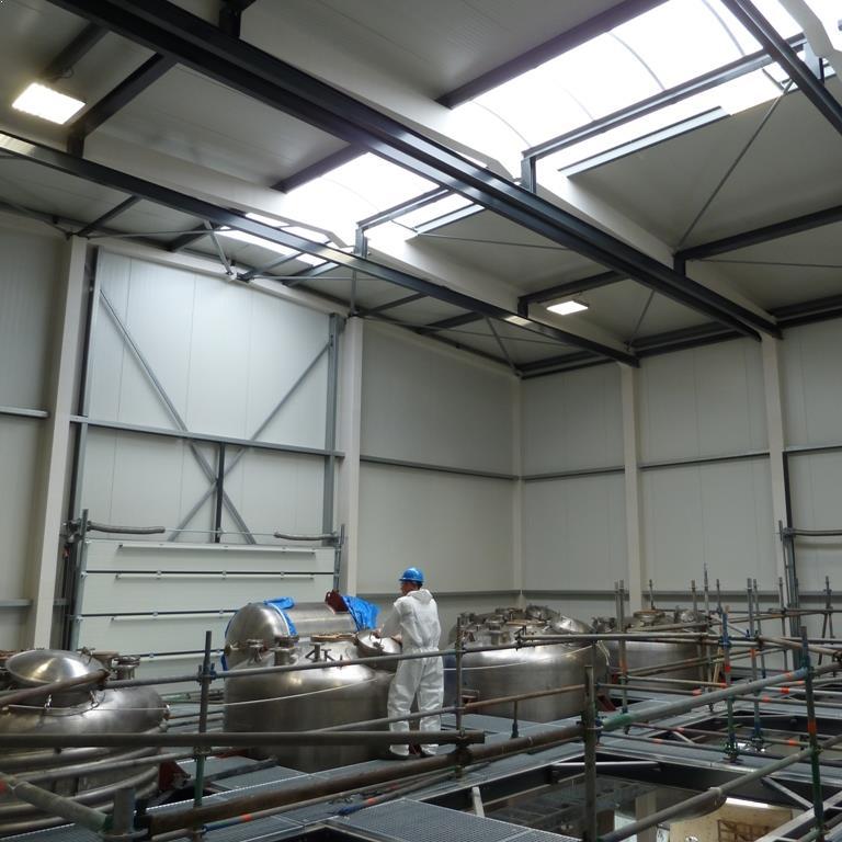 LED Fabriekshalverlichting laag bij Cerexagri