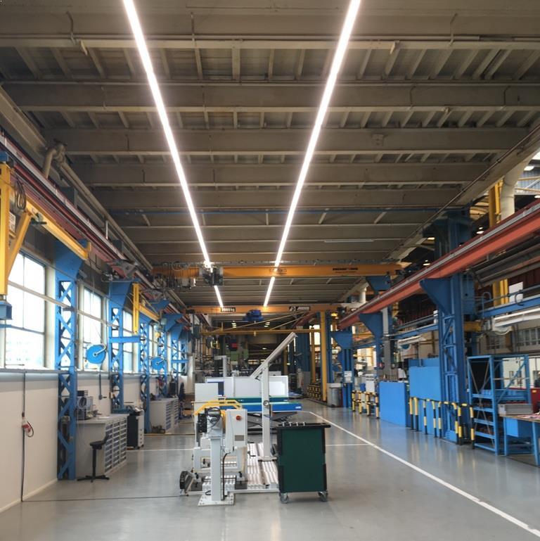 LED Speciale werkplaatsverlichting armaturen bij Siemens