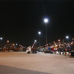 LED Terreinverlichting voor DP World Southampton