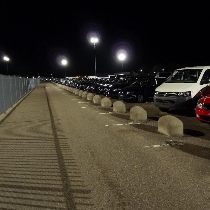 LED Parkeerterrein verlichting armaturen bij Pon Leusden