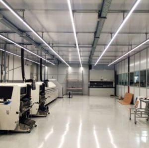 Werkplaatsverlichting bij Sakma