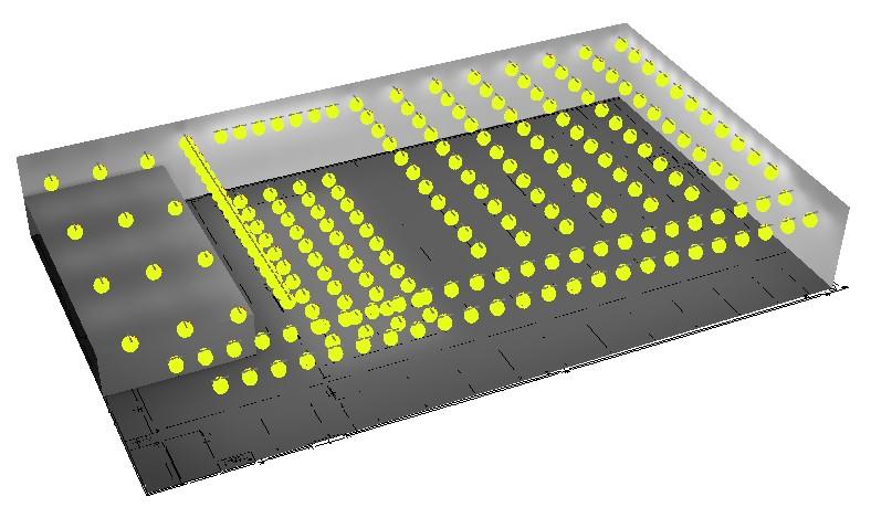 bedrijfshal lichtplan