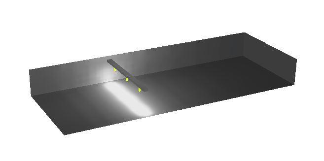 Lichtplan voor hal