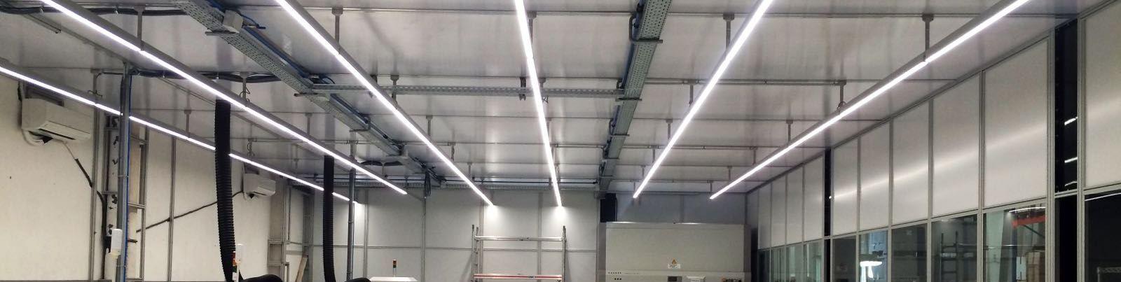LED Lichtlijnen bij Sakma
