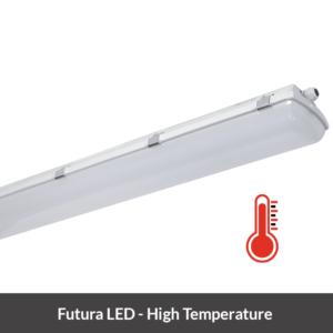Futura LED armatuur hoge temperaturen