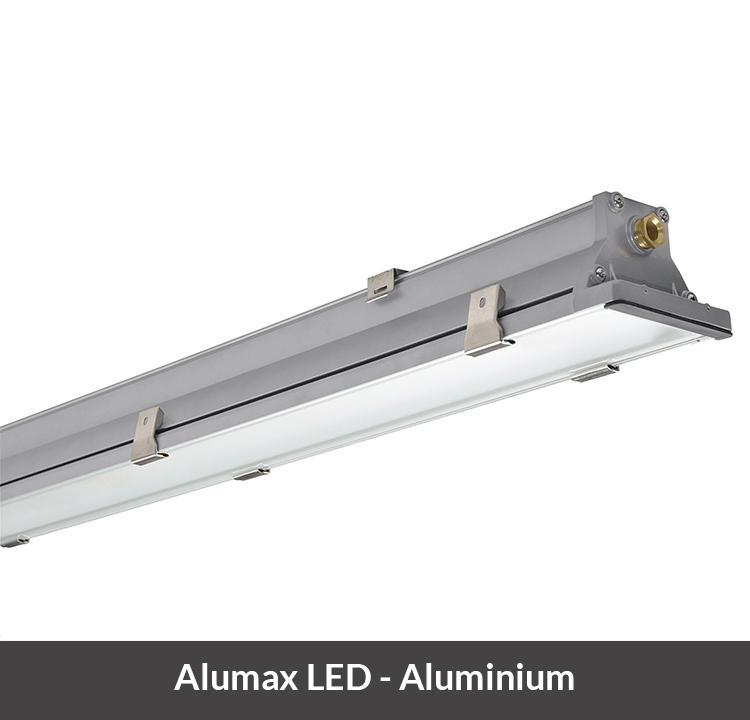 LED armatuur aluminimium Alumax