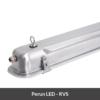 LED armatuur Perun RVS