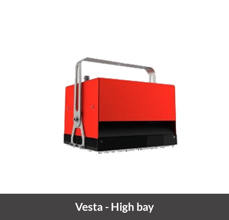 LED armatuur voor hoge bedrijfshallen Vesta High bay
