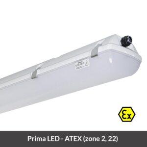 Explosiebestendige ATEX LED armatuur Prima LED