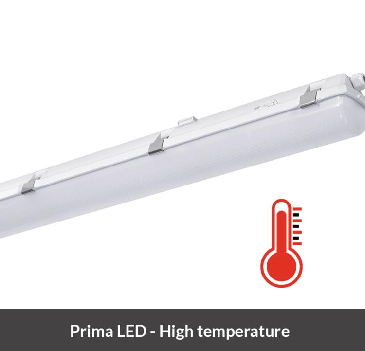 LED armatuur Prima LED bestand tegen hoge temperaturen