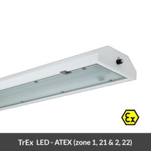 EX LED armatuur
